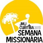 Logo JMJ Semana Missionária Curitiba 2013