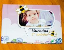 Álbum Valentina 1 aninho