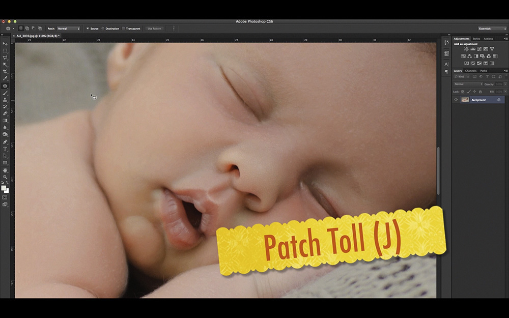 Patch toll
